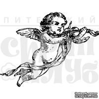 """Акриловый штамп """"Ангел со скрипкой"""""""