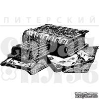 """Акриловый штамп """"Старинные книги"""""""