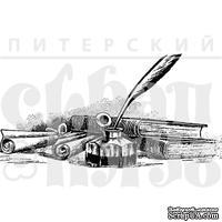 Акриловый штамп ''Перо в чернильнице'' - ScrapUA.com