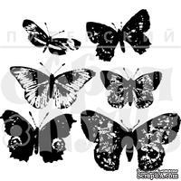 Акриловый штамп ''Винтажные бабочки''