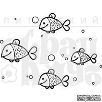 Акриловый штамп ''Рыбки''