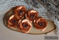 Набор от WOODchic - Металлизированные цветы 97