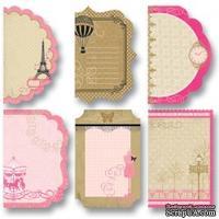 """Мини карточки отрывные от Folia -  Design Paper Mini """"Catties"""", Paris"""