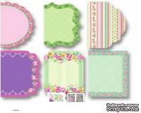 """Мини карточки отрывные от Folia - Design Paper  """"Catties"""" Roses"""