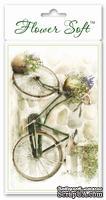 Заготовка-Topper для Flower Soft - Country - Bicycle, 1 шт.