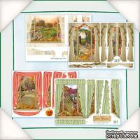 Заготовки для Flower Soft - Вид из окна - Осень, 8 шт.