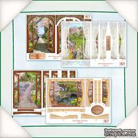 Заготовки для Flower Soft - Вид из окна - Весна, 4 шт.