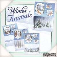 Заготовки для открытки от Flower Soft - Winter Animals