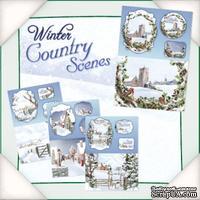 Заготовки для открытки от Flower Soft - Winter Country Scenes