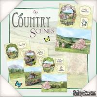 Заготовки для открытки от Flower Soft - Country Scenes