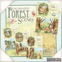Заготовки для открытки от Flower Soft - Enchanted Forest Scenes