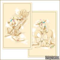 Заготовка для Flower Soft - Сердца и Цветы, 2 шт.