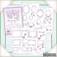 Заготовки для Flower Soft - Lavender Papercraft Kit, 4 шт.
