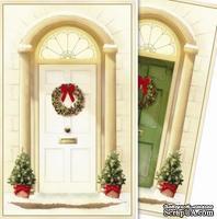 Заготовки для Flower Soft - Christmas - Traditional Door, 6 шт.