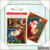 Заготовка для открытки от Flower Soft - Workshop Santa, 6 шт.