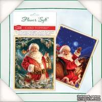 Заготовка для открытки от Flower Soft - Magical Santa