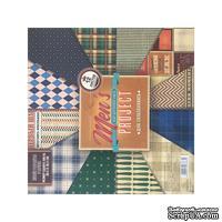 Набор бумаги для скрапбукинга от АртУзор - Men's project, 12 листов, 30,5 х 30,5 см