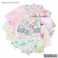 Набор бумаги для скрапбукинга от АртУзор -Shabby day, 12 листов, 30,5 х 30,5 см