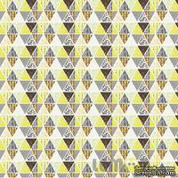 Лист бумаги от Lemon Owl, коллекция - Attic Door, лист  #11 - Mosaic, 401111