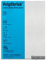 Шринк Пластик - Shrink Plastic, прозрачный, 1 лист