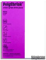 Шринк Пластик - Shrink Plastic, белый, 1 лист