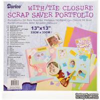 Папка для хранения от Darice - Scrap Saver Portfolio, прозрачная, 33х33 см