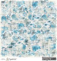 Лист бумаги для скрапбукинга от Magnolia - BLUE AUTUMN
