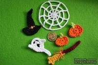 Вязаные украшения от Pony Polly - Хеллоуин, размер упаковки 7,5х11 см
