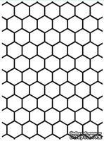 Папка для тиснения и эмбоссинга от Darice - Honeycomb