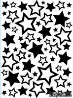 Папка для тиснения и эмбоссинга от Darice - Stars Asst