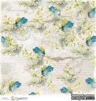 Лист бумаги для скрапбукинга от Magnolia - SWED FEATH
