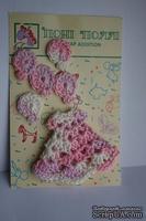 Вязаные украшения от Pony Polly - Платье и воздушные шарики, размер упаковки 7,5х11 см