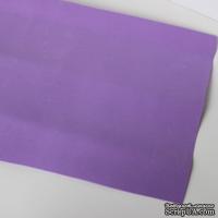 Лист фоамирана (пористой резины), А4 -20х30 (17х25) см, цвет: фиолетовый