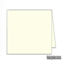 Заготовка для открытки Square, 15х15, цвет слоновая кость, 1 шт.