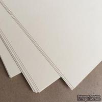 Двусторонний лист бумаги, цвет ванильный, размер А5, 120гр/м.кв - ScrapUA.com