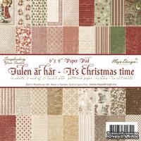 Набор бумаги для скрапбукинга от Maja Design - It's Christmas time - Paper Pad, 15х15 см, 48 листов