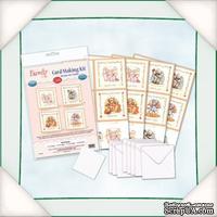 Заготовки для открытки от Flower Soft - Recipes for Family - Card Making Kit