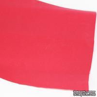 Лист фоамирана (пористой резины), А4 -20х30 (17х25) см, цвет: красно-розовый
