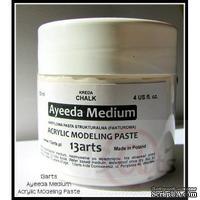 Текстурная паста Ayeeda Medium - Modeling paste, цвет белый, 120 мл
