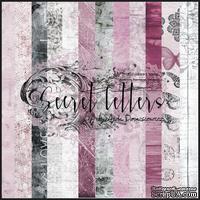 Набор бумаги 13arts - Secret letters , 30х30 см