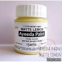 Краска 13arts - Ayeeda Paint - Matte Lemon