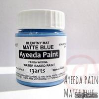 Краска 13arts - Ayeeda Paint - Matte Blue - ScrapUA.com