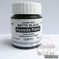 Краска 13arts - Ayeeda Paint - Matte Black