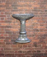 Гипсовый фонтан под серебро от Е.В.А. 6x4,8 см