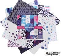 Набор бумаги для скрапбукинга от АртУзор «#Бесконечность», 12 листов, 30,5 х 30,5 см, 180 г/м
