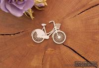 "Чипборд от WOODchic - ""Велосипед Прованс"", 7х4.5 см"