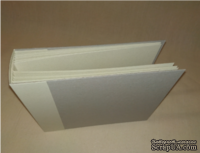 АЛЬБОМ 20*20 дизайнерский картон Tintoretto angora,  300 г/м2 10 листов + обложка