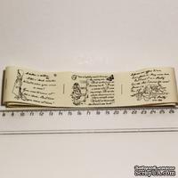 Лента от Thailand - Lovely Girl Print Cotton Ribbon Label String,1 метр