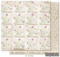Двусторонний лист бумаги для скрапбукинга от Maja Design - Vintage Spring Basics - 5th of May, 30x30 см