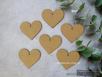 """Заготовка для декорирования от WOODchic - """"Сердце маленькое"""", 9.5х9.5 см - ScrapUA.com"""
